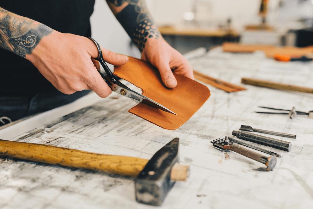 negócio de artesanato