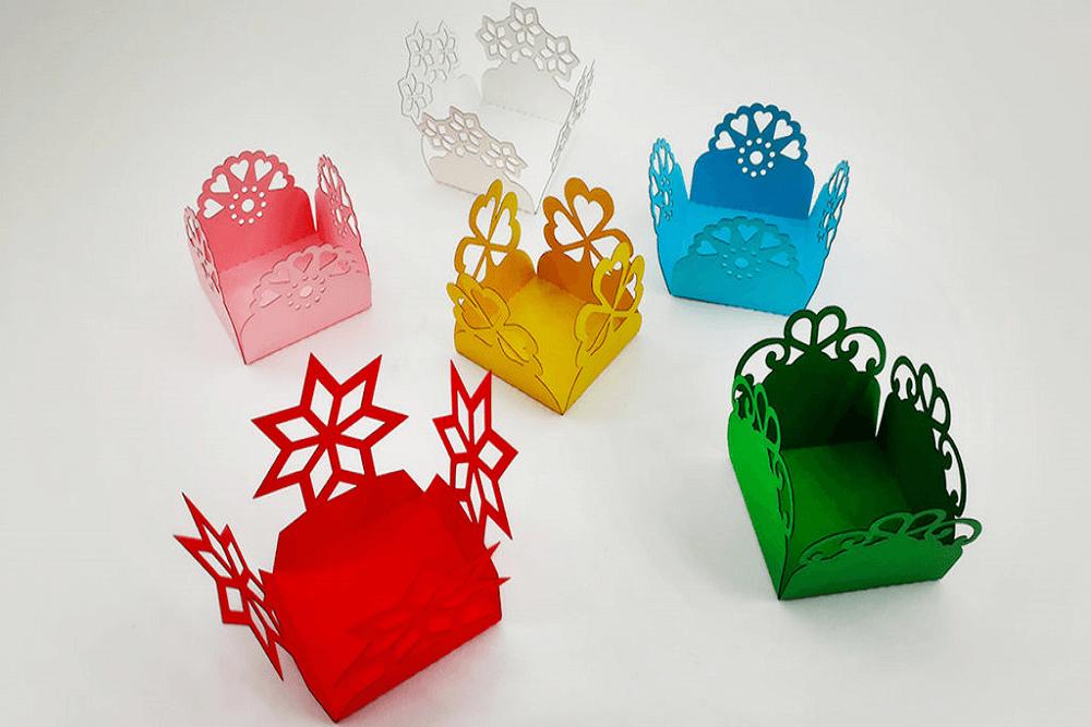 forminhas de papel personalizadas
